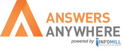 Answers Anywhere powered by Infomill