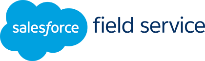 Salesforce Field Service logo