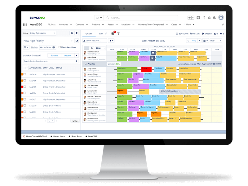 ServiceMax Asset 360 for Salesforce Field Service