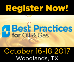 Best Practices for Oil & Gas