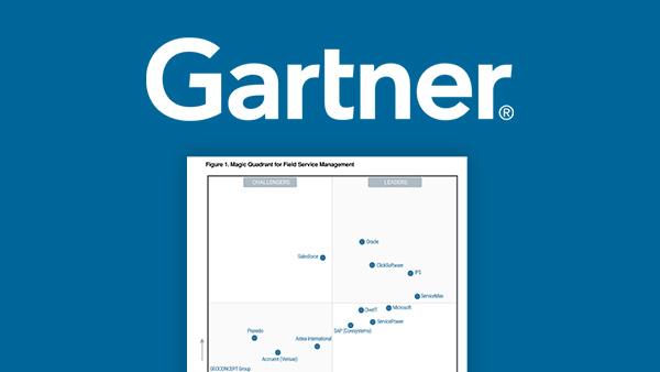 2019 Gartner Magic Quadrant for Field Service Management