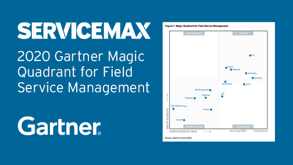 2020 Gartner Magic Quadrant for Field Service Management