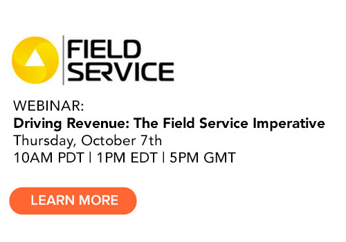 Join our Field Service Revenue Webinar